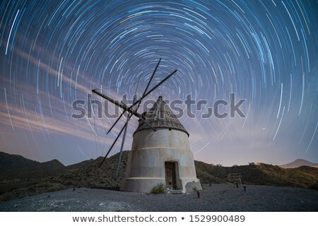 De Molen Night Lights Stock photo © rghenry