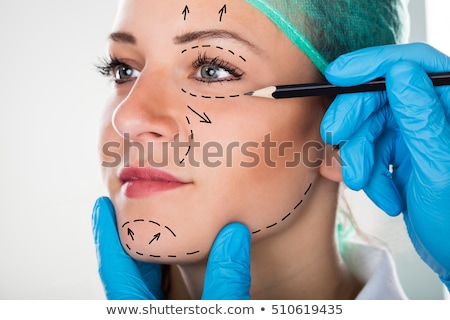 liposuction cosmetic surgery Stock photo © lienkie
