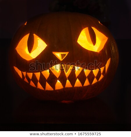 Helloween pumpkin carving Stock photo © jordanrusev
