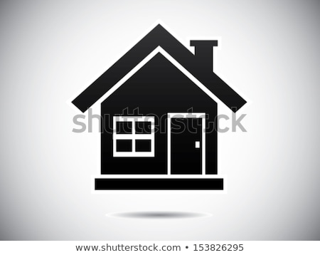 Simple family house vector illustration clip-art image Stock photo © vectorworks51