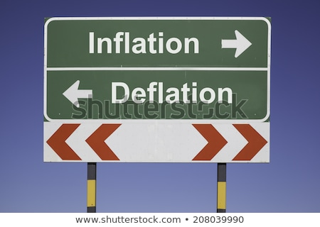 direction of inflation and deflation Stock photo © blackmoon979