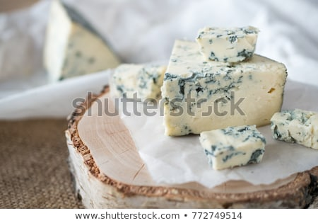 フランス語 ブルーチーズ 作品 新鮮な クローズアップ グルメ ストックフォト © Digifoodstock