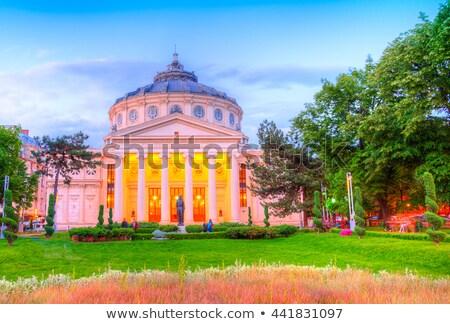 Бухарест Панорама Румыния панорамный мнение центра Сток-фото © joyr