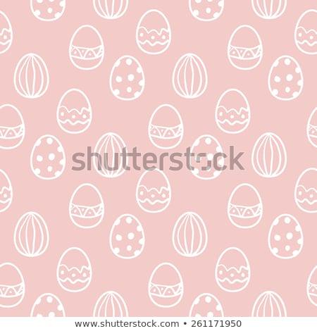easter · egg · abstract · ontwerp · ei · teken · leuk - stockfoto © leonardi