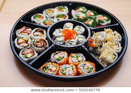 Sushi Party Platter Stock photo © davidgn