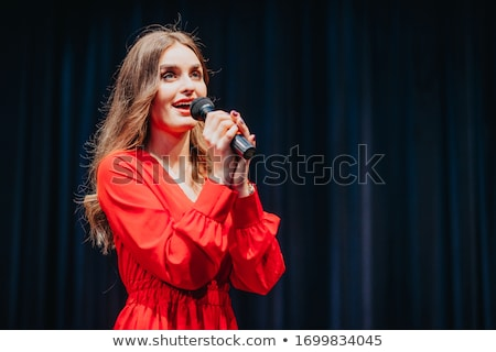 beautiful musican stock photo © pilgrimego