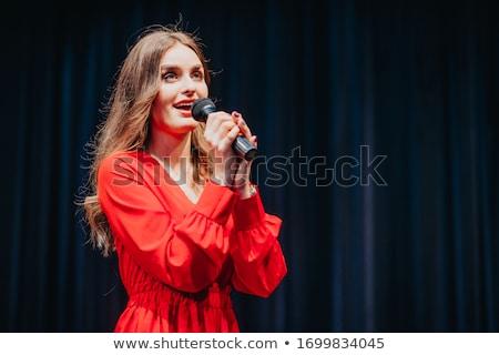 Beautiful musican Stock photo © Pilgrimego