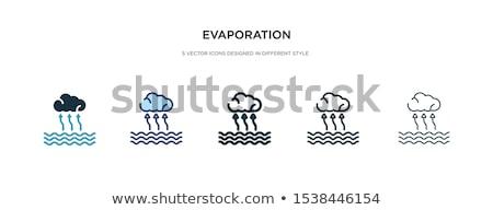 Foto stock: ícone · diferente · estilo · vetor · símbolo