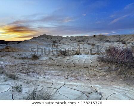 Foto stock: Deserto · natureza · paisagem · caminhão · verão · azul
