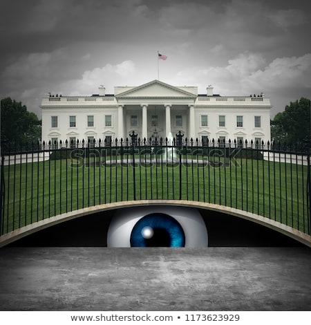 Casa blanca secreto profundo político anónimo fuente Foto stock © Lightsource