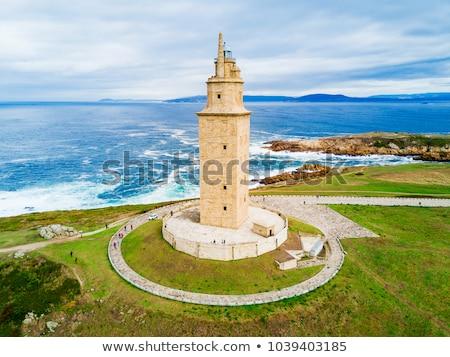 LA torony Galícia Spanyolország világ óceán Stock fotó © lunamarina