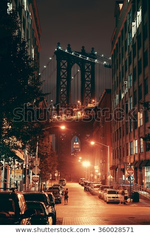 NYC by night, USA. Stock photo © vwalakte