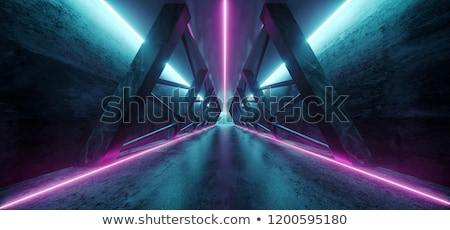 space ship corridor. Science fiction Stock photo © studiostoks