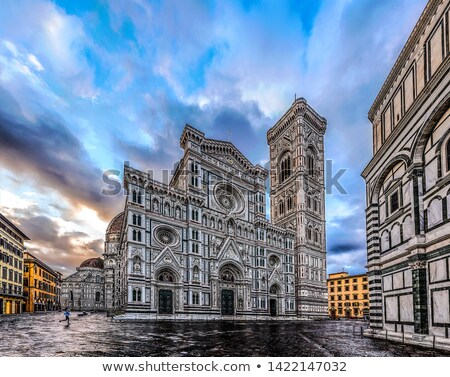 FLORENCE · Italie · vue · ville · art · pierre - photo stock © boggy