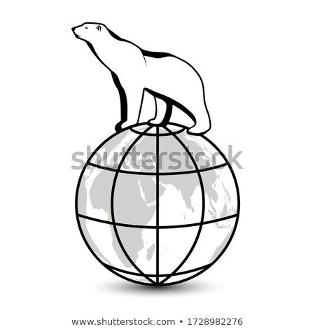 Dier schets illustratie natuur achtergrond Stockfoto © colematt