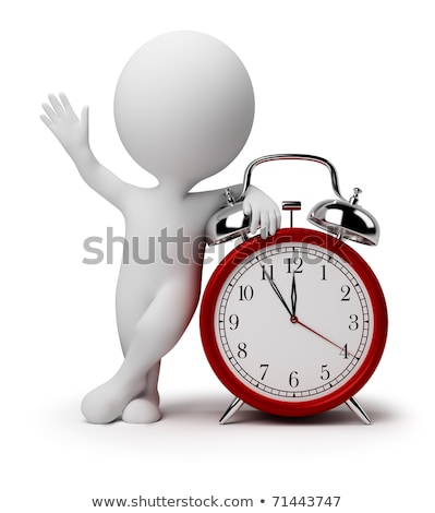 3d posing man time out gesture stock photo © ribah