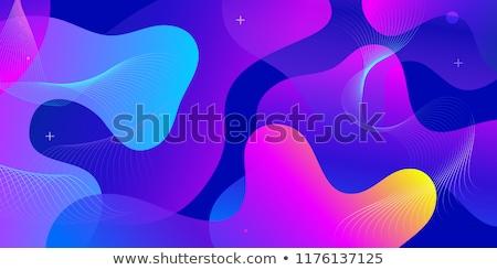 流体 · 抽象的な · 液体 · ベクトル · デジタル · 色 - ストックフォト © pikepicture