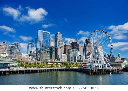 Seattle zonnige voorjaar namiddag kantoor Stockfoto © jsnover