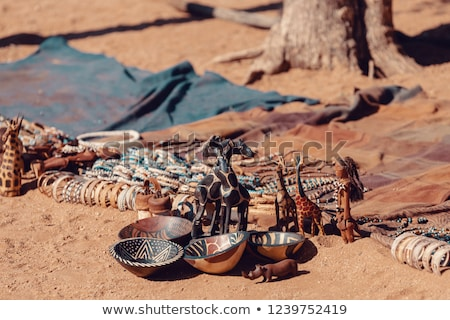 traditional souvenirs from himba peoples africa stock photo © artush