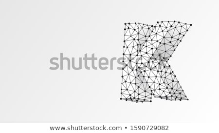 abstract · atomair · vorm · zwarte · 3D - stockfoto © djmilic