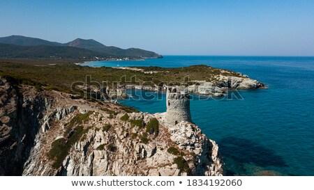 Playa córcega Francia vista oriental costa Foto stock © nito