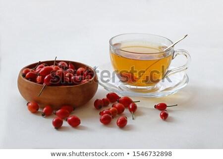 Wild rose tea Stock photo © AGfoto