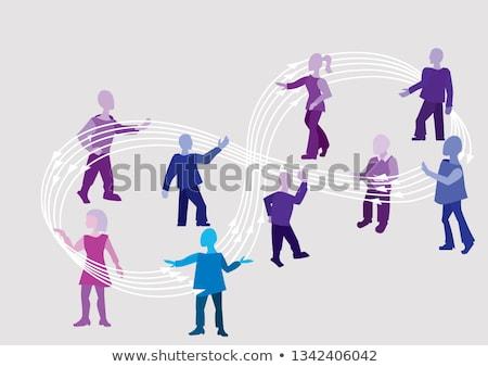 Negócio comentários laço alto gráfico Foto stock © kbuntu