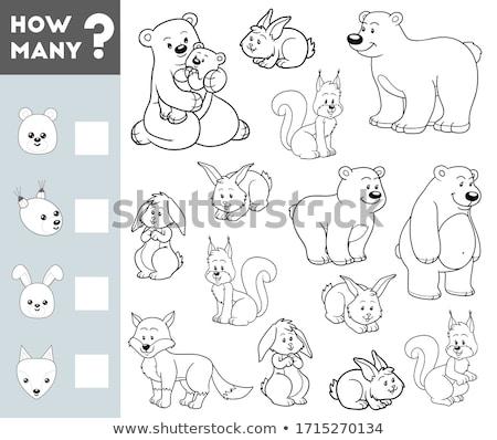 Muitos tarefa crianças ilustração Foto stock © izakowski