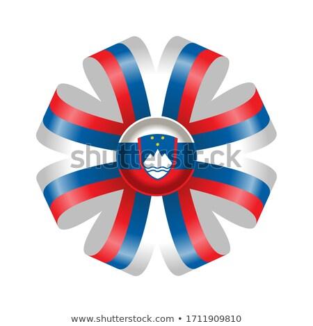 Serbia Rosette flag Stock photo © milsiart