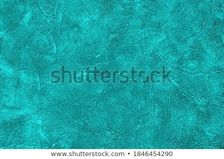 Zümrüt boyalı duvar kağıdı duvar kâğıt soyut Stok fotoğraf © tarczas