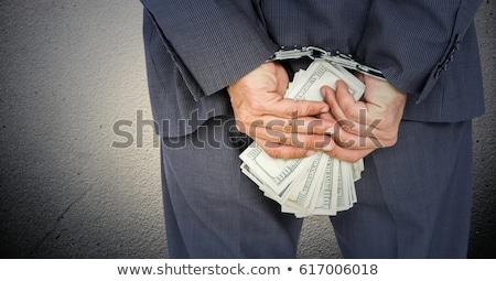 Empresario billetes blanco negocios mano Foto stock © wavebreak_media