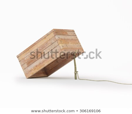 Trapped in a box. Stock photo © photography33