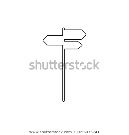 blank sign post stock photo © zzve