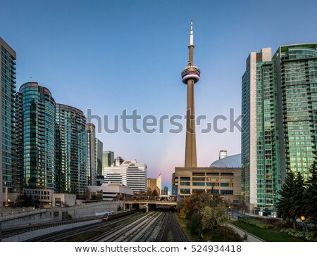 Kule yaz gökyüzü mavi Stok fotoğraf © RAM