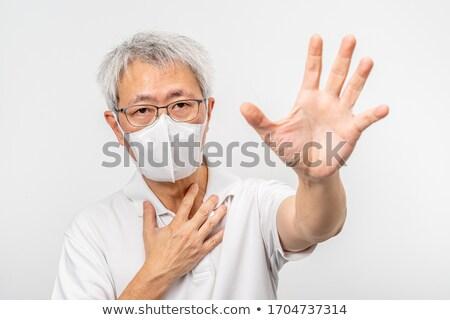 man asking to stop Stock photo © ichiosea