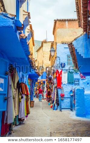 Marrocos rua 2014 Árabe homem turistas Foto stock © KMWPhotography
