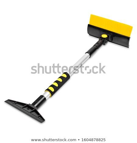 Shovel on white background Stock photo © FrameAngel