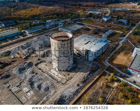 Old Industrial site Stock photo © manfredxy