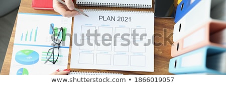 Two diaries and silver pen stock photo © vtls