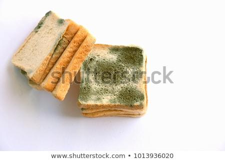 pão · cozinha · tabela · prato · fungo - foto stock © suljo