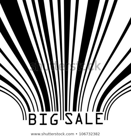 Big Sale bar codes all data is fictional. EPS 8 Stock photo © beholdereye