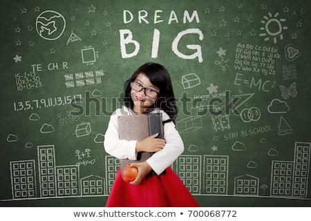 большой · яблоко · диета · красивой · соответствовать · молодые - Сток-фото © goce