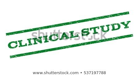 Klinisch grunge tekst teken geneeskunde Stockfoto © carmen2011