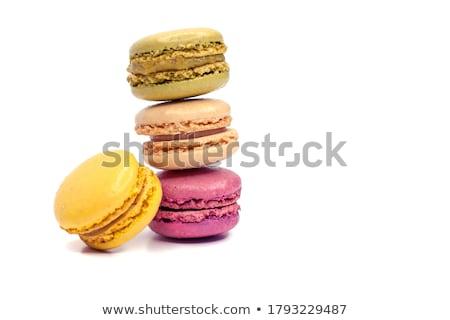 cookies · rosa · caer · alimentos · fondo · torta - foto stock © neirfy
