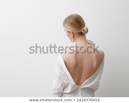minimalist · fotoğraf · moda · kız · şık · yaz - stok fotoğraf © serdechny