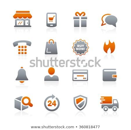 Avatar iconos grafito vector web los medios de comunicación Foto stock © Palsur