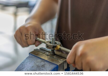 Tap and die Stock photo © yoshiyayo