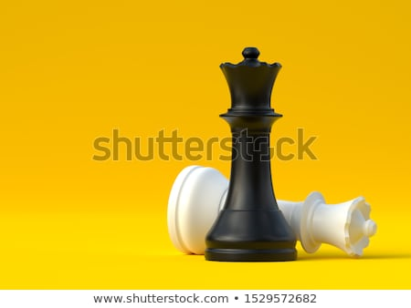 White Chessman Stock photo © make