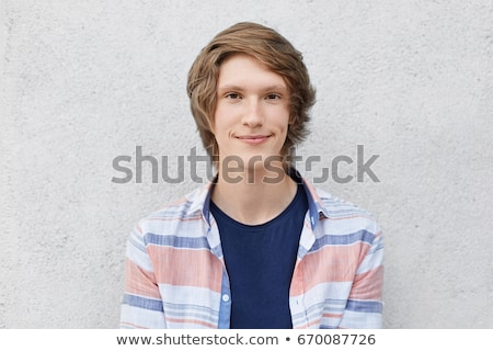 portrait of handsome appealing young man Stock photo © artush