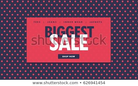 Twórczej sprzedaży zniżka talon projektu ceny Zdjęcia stock © SArts